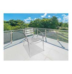 TERRACE LEISURE Maxima Aluminium Chair Silver - Lowest Prices & Specials Online | Makro