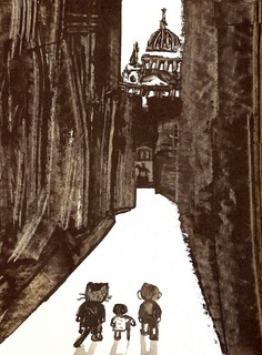 André François : Tom & Tabby. Great expectations // By arthurvankruining, via Flickr