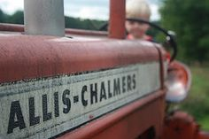 Allis- Chalmers- My great grandaddy had one..loved riding on it w my Daddy<3