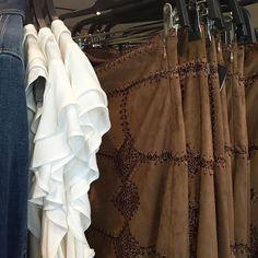 Crochet + suede =  @zara #crochet #suede #skirt #fallfashion #suedeskirt #autumn #zara #Pixxy