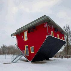 up side down house?