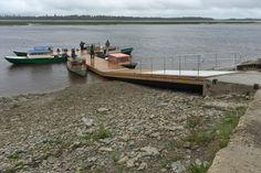New docks in Moosonee already in use.