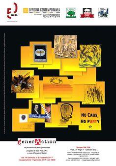 GenerAction, rassegna internazionale d'Arte Postale, Museo MA*GA, Gallarate (VA)
