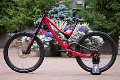 """chirosangaku: """" Specialized's Pound S-Works Demo 8 Carbon Downhill Bike - Features - Vital MTB """" Downhill Bike, Video Image, Bike Trails, Mountain Biking, Discovery, It Works, Around The Worlds, Vehicles, Cars"""