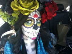 Halloween day of the dead makeup