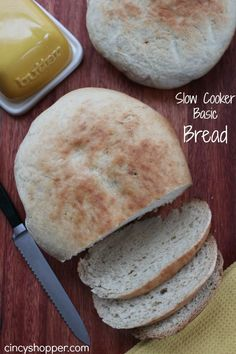 If you are looking to make an easy Basic Bread, you will want to give this Slow Cooker Basic Bread Recipe. I will admit this was one of my hubbies creations