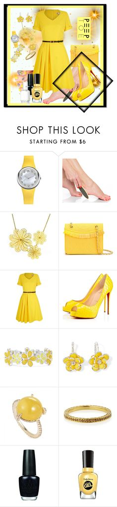 """""""bzzzzzzzzzzzzzzzzzzzzzzzz"""" by nanniehatter ❤ liked on Polyvore featuring Philip Stein, Arabel Lebrusan, Tory Burch, Yumi, Privé, Liz Claiborne, Mixit, Penny Preville, OPI and Sally Hansen"""