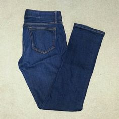Gap real straight  jeans sz 29 r Real straight jeans size 29 regular length GAP Jeans