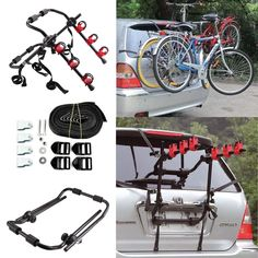 Genuine Bmw Bike Cycle Carrier X 2 Lockable With