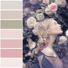 loved this muted color palette
