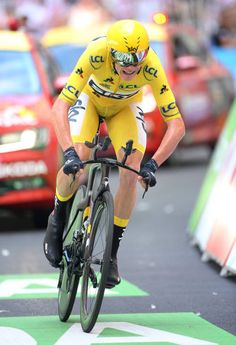 Christopher Froome of Great Britain and Team Sky retains the leader's yellow jersey during stage 20 of the Tour de France 2017 an individual time...