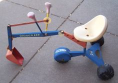 Vintage Made In Germany ROLLY TOYS Ride On Digger Excavator #ROLLYTOYS