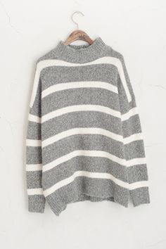 (http://www.oliveclothing.com/p-oliveunique-p-20141201-010-grey-high-neck-stripe-knit-jumper-grey)