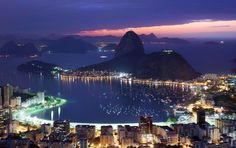 15 Вид на Рио-де-Жанейро и Петрополис. Источник: Associated Press