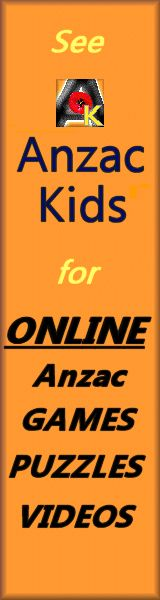 Classroom activities - Anzac Day Websites