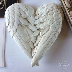 Heart of angel wings.