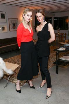 Melanie Glass and Vanessa Traina Snow