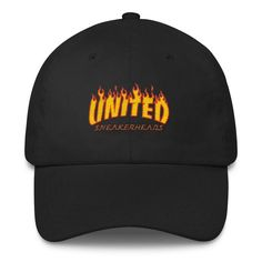 factory price 04389 cf492 Dope Thrasher X United SneakerHeads dad hat! This ultimate dad hat is  perfect for anyone who appreciates comfy old school cool.