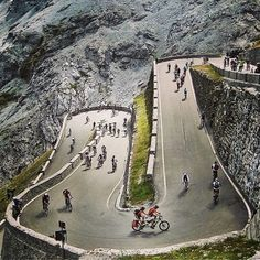 instabicycle: Via @Martin Ebert: Repost for #jj_forum_0754 as my favorite shot of 2013. This was taken at the Stelvio Pass car free day on Aug...