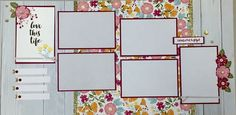 (pin 3 of 3)... 6-page workshop by Laura Ryan using CTMH Happy Times paper... (pages 5 & 6)