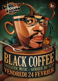 Black Coffee @ Djoon, Paris