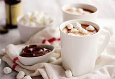 Tres ricas recetas de chocolate caliente
