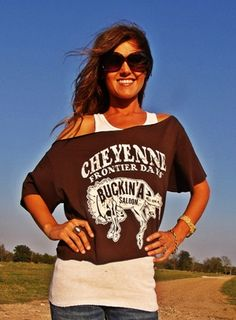 Buckin' A Saloon Tee-and everything else on here!