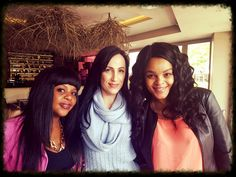 Suzette Marais and the pretty ladies from SABC Pretty Woman, Africa, Celebrities, Lady, Model, Tops, Fashion, Moda, Celebs