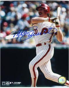 01d32fd548cc12 Mike Schmidt Philadelphia Phillies Autographed 8