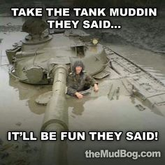 Shut the fuck up Carl! (memes): Carl, I'm glad you can think funny shit while the rest of us are getting a sinking feeling! Military Jokes, Army Humor, Military Videos, Army Life, Military Life, Military Tank, Stuck In The Mud, Armored Fighting Vehicle, Battle Tank