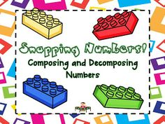 Using Lego's to compose and decompose numbers!