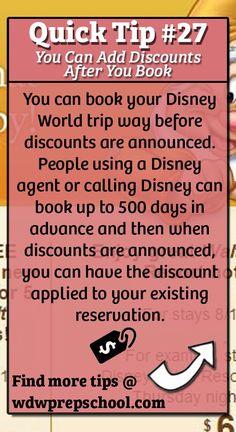 Find more tips for your Disney World trip @ wdwprepschool.com