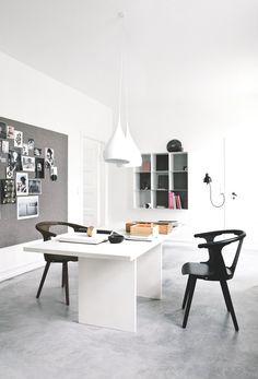 Bedroom Floor || Trend Alert: Polished Concrete Floors via @MyDomaine
