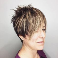 40 Cute & Youthful Short Hairstyles for Women Over 50