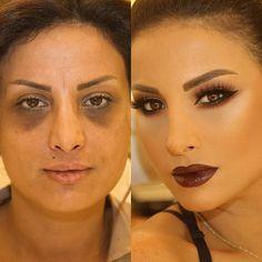 THE AMAZING MAKE UP by samerkhouzami #beauty