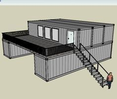 Container House - long term shipping container support - Google Search - Who Else Wants Simple Step-By-Step Plans To Design And Build A Container Home From Scratch?