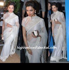 Deepika Padukone at Sanjay Leela Bhansali's Birthday Bash in Anamika Khanna