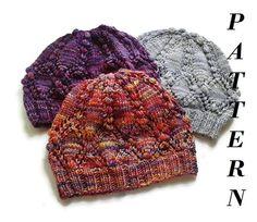 Instant download knitting pattern  knit hat pattern  by MaruWool, €2.90