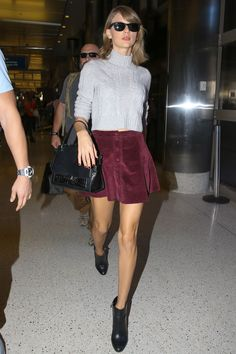 "Taylor Swift ""Out And About"" at LAX airport in Los Angeles November 04, 2015."