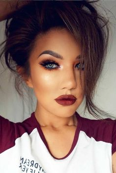 Makeup Tips For Dark Circles Ideas Make-up-Tipps für Augenringe Ideen Flawless Makeup, Gorgeous Makeup, Pretty Makeup, Love Makeup, Skin Makeup, Makeup Ideas, Eyebrow Makeup, Fall Makeup Looks, Dead Gorgeous