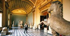 Stuck at Home? These 12 Famous Museums Offer Virtual Tours You Can Take on Your Couch - places / travel Virtual Museum Tours, Virtual Tour, Virtual Art, National Park Tours, National Parks, National Trust, Van Gogh Museum, Art Museum, Gate Of Babylon