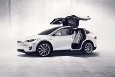 A First Look at the Tesla Model X SUV