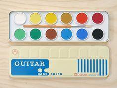Present - Guitar Paint Set