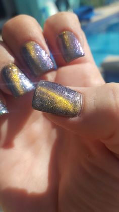 Cateye nails.