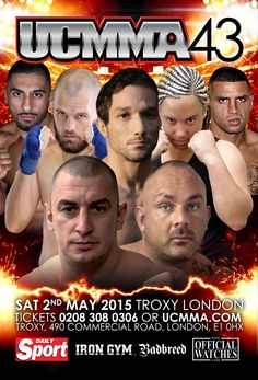 ucmma 43 may 2015 Iron Gym, Sat 2, Commercial, Movies, Movie Posters, Films, Film Poster, Popcorn Posters, Poster