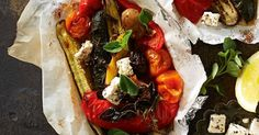 Barbecue marinated vegetables for an easy vegetarian and gluten free side.