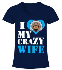 """# I Love Crazy German Shepherd Wife .  HOW TO ORDER:1. Select the style and color you want2. Click """"Buy it now""""3. Select size and quantity4. Enter shipping and billing information5. Done! Simple as that!TIPS: Buy 2 or more to save shipping cost!This is printable if you purchase only one piece. so don't worry, you will get yours.Guaranteed safe and secure checkout via: Paypal 