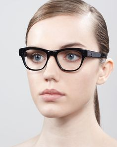 Oliver Peoples Parsons Fashion Glasses, Black