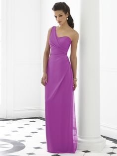 Probably in a different colour. Radiant Orchid bridesmaid dress from After Six
