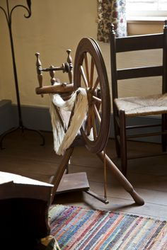I have always been fascinated with hand crafted items and spinning is one of those crafts that is most intriguing. The fiber, for example . Spinning Frame, Spinning Yarn, Hand Spinning, Spinning Wheels, Yarn Thread, Wishbone Chair, Country Decor, Fiber Art, Lana